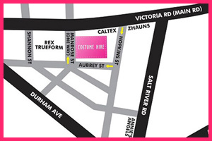 Click to view map & directions to Costume Hire